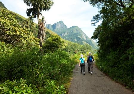 hike on Sri Lanka photo