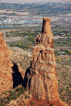 Colorado Monument in USA photo