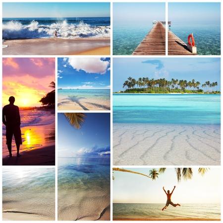 sri lanka: beach Stock Photo