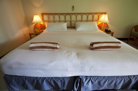 bedroom on resort photo