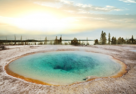 Yellowstone Park photo