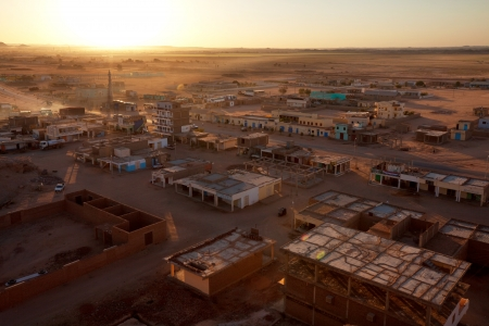 ethiopia: Wadi Halfa city in Sudan