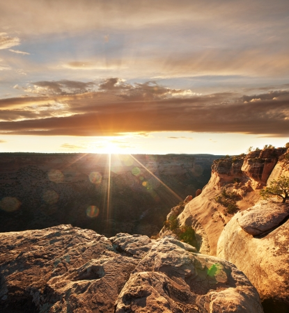 Colorado Monument in USA photo