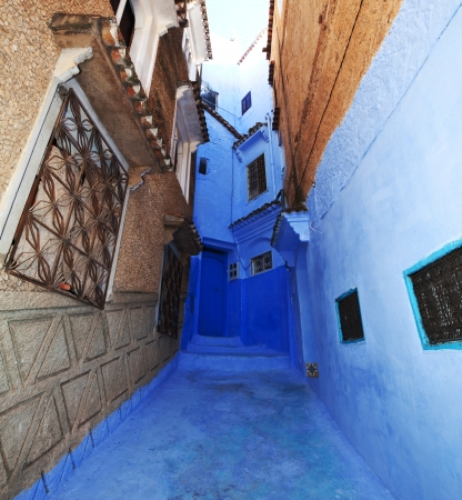 Chefchaouen in Morocco photo