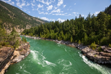 Kootenai river Stock Photo