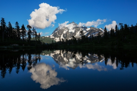 Mount Shuksan,Washington photo