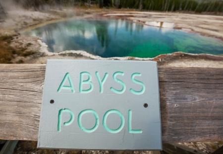 hydrology:  West Thumb Geyser Basin in Yellowstone National Park