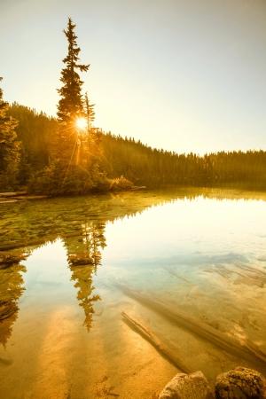 mt  baker: lake in mt. Baker Recreation  Area,USA