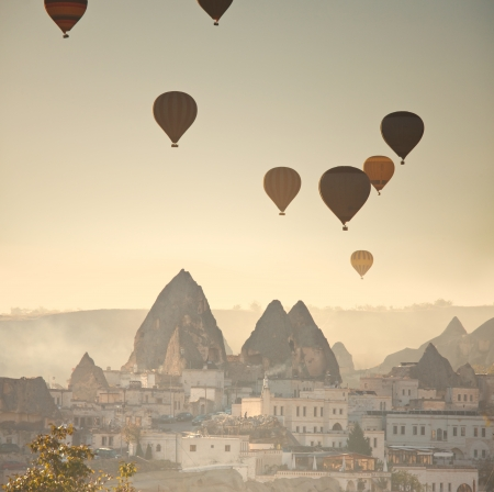 erosion: Cappadocia in Turkey