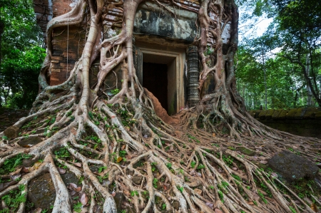 Ancient  temple Koh Ker,Cambodia photo