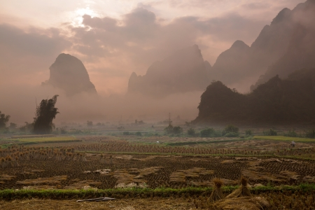 Cao Bang province in  Vietnam photo