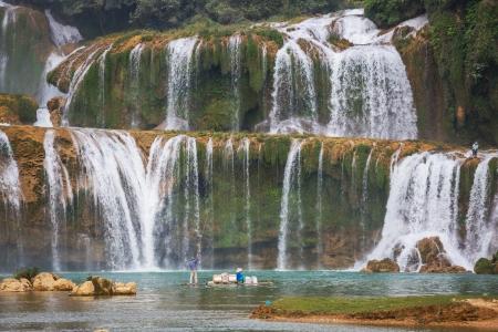 natural wonders: Ban Gioc - Detian waterfall in  Vietnam