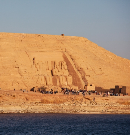 Rameses II Temple in Abu Simbel, Egypt. photo