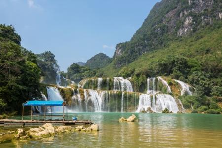 Ban Gioc - Detian waterfall in  Vietnam Stock Photo - 16876898