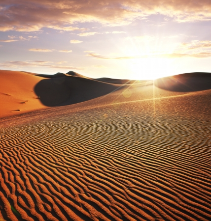 Sahara desert Stock Photo - 17480413
