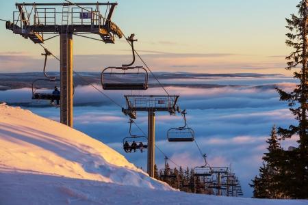 resort: ski resort