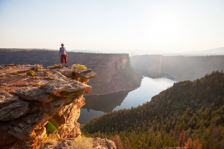 overlook: Flaming Gorge recreation area