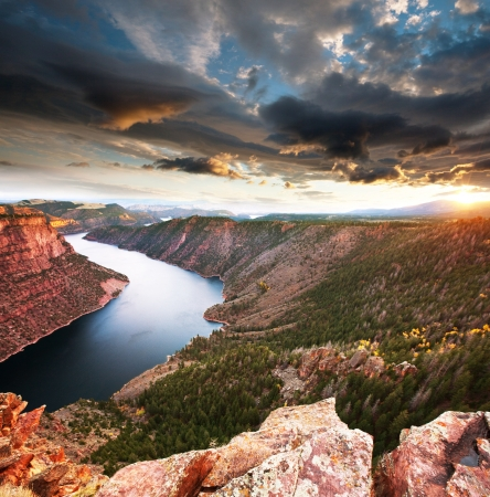 wyoming: Flaming Gorge recreation area