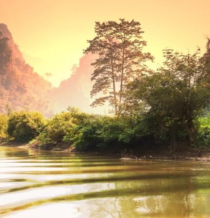 Tropical landscapes,Vietnam Stock Photo - 18161425