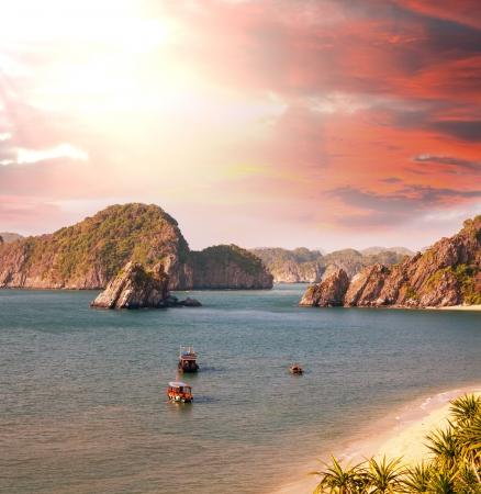 vietnam: Halong Bay,Vietnam Stock Photo
