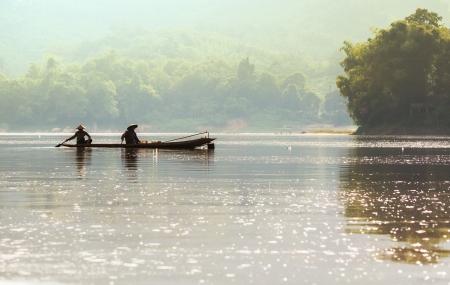 lao: Lao paysages Banque d'images