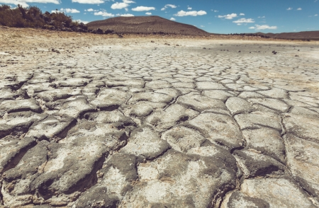 dire: Drought land Stock Photo