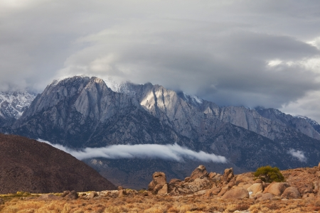 Alabama hills in California photo