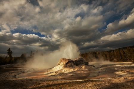predictable: Castle geyser