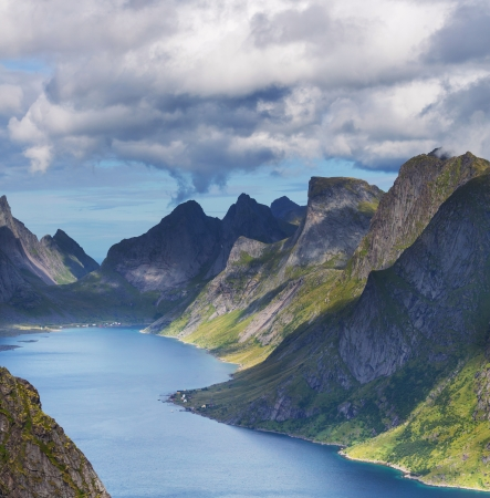 Lofoten island,Norway photo