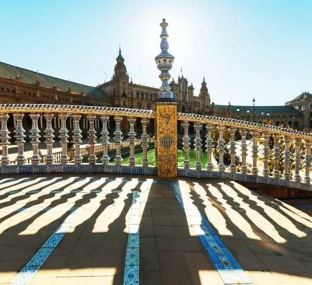 Plaza Espana in Sevilla,Spain