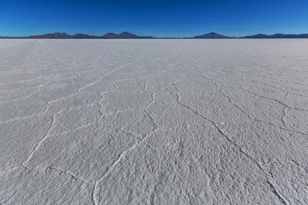 salar: Salar de Uyuni, Salt flat in Bolivia Stock Photo