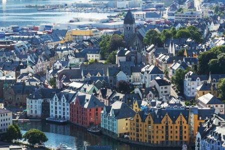 alesund: Alesund in Norway
