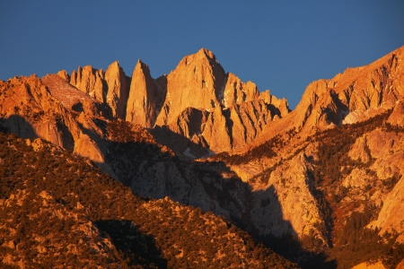 inyo national forest: Mt  Whitney landscapes Stock Photo