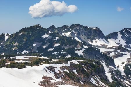 mt  baker: Mt Baker Stock Photo