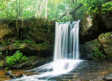waterfall Kbal Spean photo