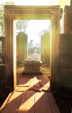 Ancient  temple Koh Ker,Cambodia 版權商用圖片