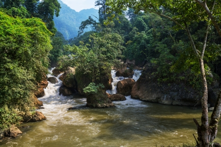 river in Vietnam photo