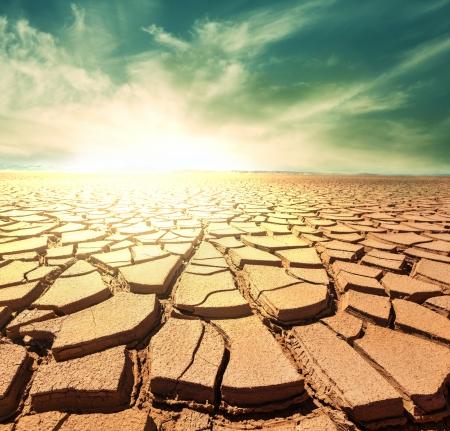 가뭄의 땅 스톡 콘텐츠 - 24128328