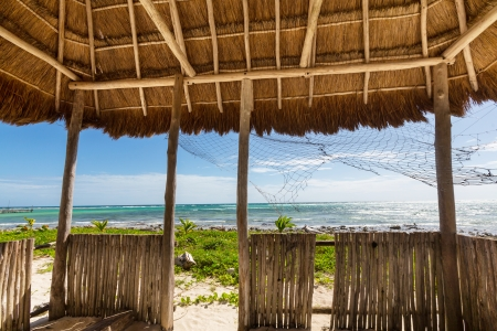 palapa: Beach scene
