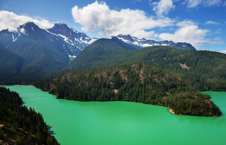 Diablo Lake,Washington photo