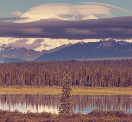 mckinley: McKinley peak Stock Photo