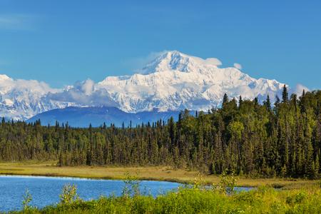 McKinley peak Reklamní fotografie