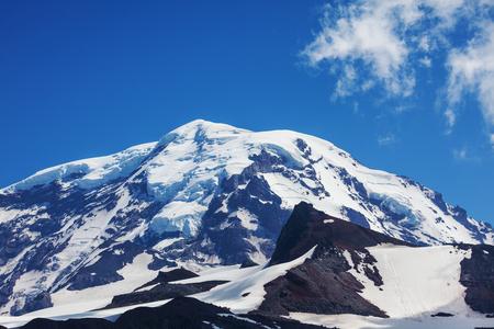 mt rainier: Mt Rainier Stock Photo