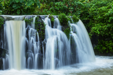 waterfall in jungle,Mexico