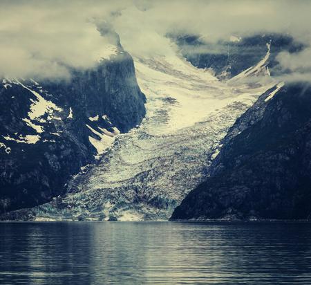 Iceberg on Alaska 스톡 콘텐츠