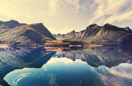 노르웨이의 풍경 스톡 콘텐츠 - 27285344