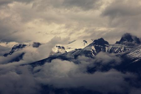 Canadian mountains Фото со стока