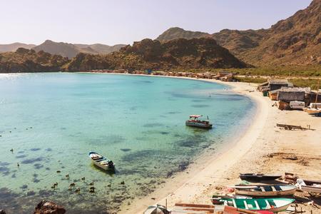 california coast: Baja California beach
