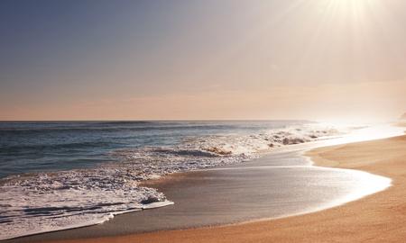 olas de mar: playa