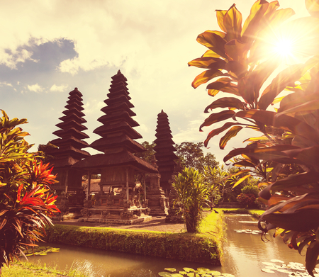 Hindu temple in Bali photo